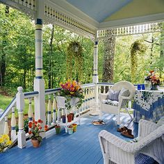 I ♥ this porch