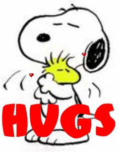 The perfect Snoopy Love Woodstock Animated GIF for your conversation. Hug Images, Snoopy Images, Snoopy Pictures, Snoopy Hug, Snoopy Und Woodstock, Woodstock Photos, Hug Gif, Sending Hugs, Peanuts Snoopy