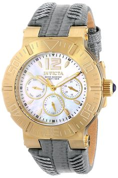 Invicta Women's 14743 Angel Analog Display Swiss Quartz Grey Watch -- You can get additional details at the image link.