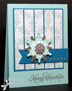 TSSC284 Festive Flurry by stampercamper - Cards and Paper Crafts at Splitcoaststampers