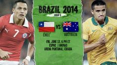 Chile vs Australia 2014 match, Chile vs Australia 2014 prediction, Chile vs Australia 2014 preview, Chile vs Australia 2014 live, Chile vs Australia 2014 time