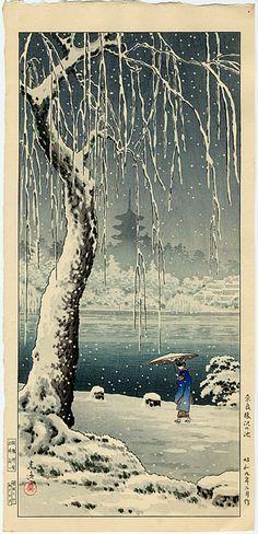 Koitsu, Tsuchiya Snow at Sarusawa Pond