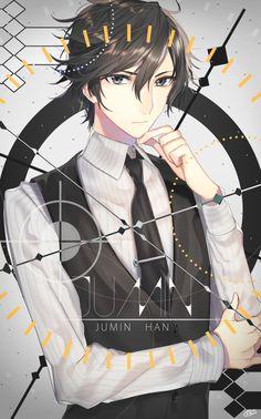 Immagine di anime, guy, and jumin han