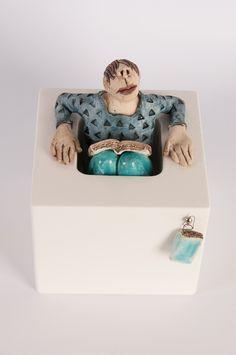 """Out of the Box""- Ans Vink keramiek"