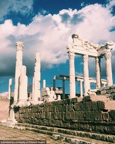 Pergamon Ancient City in all of its glory. Photo by Allison B. #UDAbroad