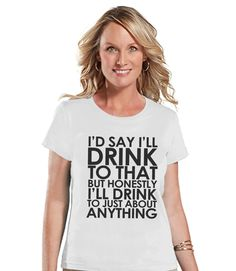 This shirt is perfect for you! Or, makes a great gift for friends! Our graphics are professionally printed directly onto the fabric for bright and vibrant designs which will last. The colors will not