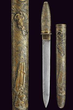 A dagger: Japan, 19th century.