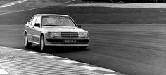 Ayrton Senna Mercedes 190E 2.3 16v Cosworth. Nurbugring 1984 - he won against a field of world-class rivals in this Mercedes launch invitational race.