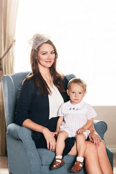 kate middleton and son inspired shoot