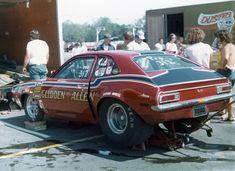 Vintage Drag Racing - Pro Stock - Pinto -Glidden & Allen