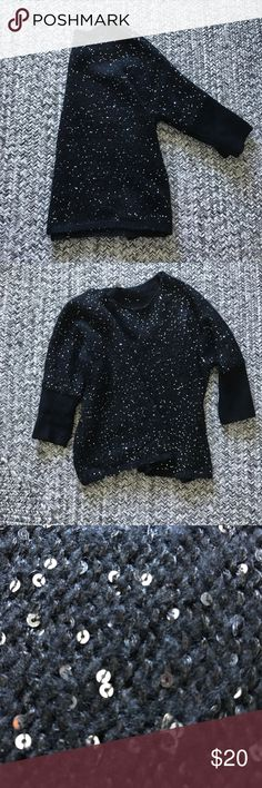 Beautiful sequins sweater Worn once. Warm. Forever 21 Sweaters