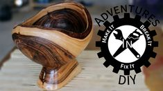 Carve a nice looking bowl using an inexpensive angle grinder carving attachment and a piece of firewood. This is a one day project that lets you flex your ca...