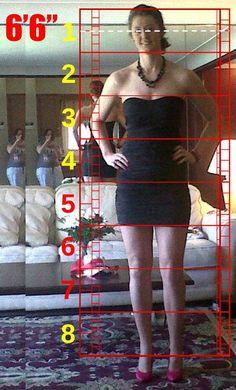 Human Proportions Study. Jessica Gordon. by WaffleJockey.deviantart.com on @DeviantArt. #TallWomen #Tall_Women #Amazon #Amazon_Women #Females #Big #Proportions
