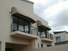 Aluminium awnings are a great addition to your home. It can easily be installed over doors & windows or be used to create shade in your patio area. Contact one of our trusted suppliers for your aluminium awning. Aluminum Awnings, Classic House Design, Staircases, Stairs, Ideas, Home Decor, Stairway, Decoration Home, Room Decor