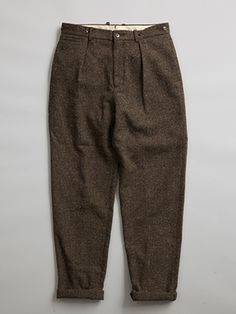 【AW16 MAN】マロリー パンツ (ツイード) / MALLORY PANT (TWEED)|Collection|ナイジェル・ケーボン|Nigel Cabourn 公式サイト American Casual, Nigel Cabourn, Men's Pants, Harem Pants, Trousers, Cool Jackets, Japan Style, Sports Jacket, Tans
