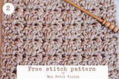 [Written Tutorials] 4 Beautiful And Free Stitch Patterns - Knit And Crochet Daily