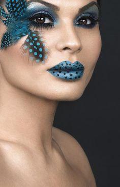Halloween Feathered Look-Bellashoot.com