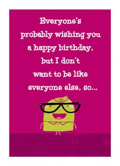 289 best birthday party ideas and cards images on pinterest unique birthday wish m4hsunfo
