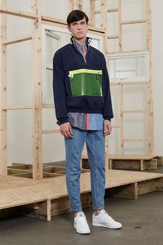 Christopher Shannonpresented his Fall/Winter 2016 collection during London Collections Men.
