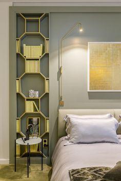 Wnętrze tygodnia: luksusowy i kolorowy apartament w Paryżu, proj. Gerard Faivre, fot. mat. pras.