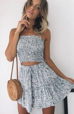 Skirts - Shop Mini, Midi & Wrap Skirts Online - Beginning Boutique Stylish Summer Outfits, Cute Casual Outfits, Girly Outfits, Spring Outfits, Casual Dresses, Formal Dresses, Cute Skirt Outfits, Cute Skirts, Pretty Outfits