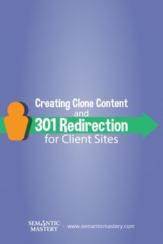 Creating Clone Content and 301 Redirection for Client Sites #SEO via http://semanticmastery.com/creating-clone-content-and-301-redirection-for-client-sites/