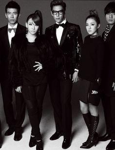 T.O.P with YG FAMILY