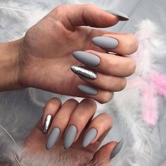 15 trendy ideas for gray nails that you should try now - 15 tr . - 15 trendy ideas for gray nails that you should try now – 15 trendy ideas for gray nails that you -