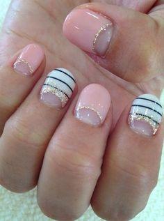 More nautical nails