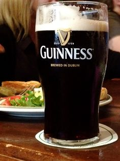 Nothing says Ireland like a Guinness