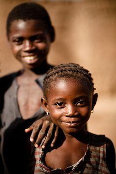 Smiles in Burkina Faso. #Happiness #Smile #Children @ethicalfashion1