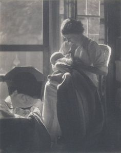1905 Gertrude Kasebier photo by Breast Milk Film, via Flickr