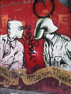 Nápoles, graffiti