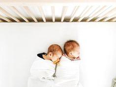 Cute little twin babies