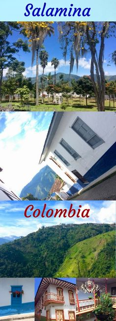 Salamina is blessed with beautiful architecture and stunning scenery. Find out why you should visit this Colombian National Heritage town before it's too late! #Colombia #travel #coffee #heritage