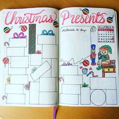 I know, i know, it's August.. But each year I leave present making 'till the…