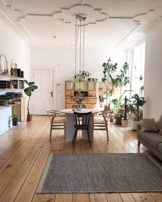 my scandinavian home: A Lovely, Relaxed Artist's Home Full of Plants