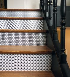 Removable vinyl tiles by by DOMINO by Mlle Ing | 20 Adorable Etsy Finds for the Home | Poppytalk