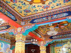 tibetan temple - Bodhgaya Bihar, India