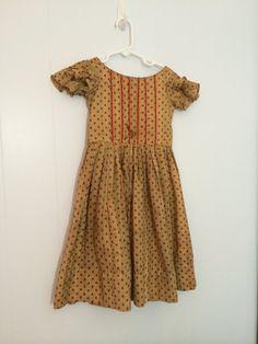 Antique 1800s Civil War Era Little Girls Dress by GretasPlace