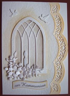 Ullis Bastelwerkstatt Sympathy Cards, Greeting Cards, Holiday Cards, Christmas Cards, Easter Religious, Window Cards, Die Cut Cards, First Holy Communion, Scrapbook Cards