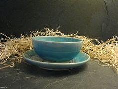 Schale mit Teller - Set von Bergdorf Keramik  auf DaWanda.com