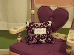 Personalized Tooth Fairy Pillow by HazelLaneDesigns on Etsy, $11.50
