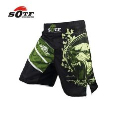 MMA Ghost Warrior Kickboxing Boxing Pants Tiger Fitness Shorts Fighting Trunk