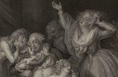 Les adieux de Louis XVI à sa famille