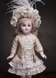 """12"""" (30 cm) Rare French Steiner Bebe doll Figure A5 with wonderful from respectfulbear on Ruby Lane"""