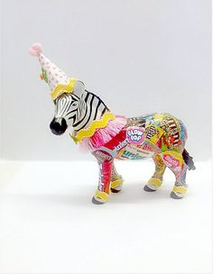 Fiesta Theme Party Discover Zoey The Zebra Cake Topper Plastic Animal Crafts, Plastic Animals, Fiesta Theme Party, Sour Patch Kids, Animal Party, Party Animals, Circus Theme, Circus Party, Zebras