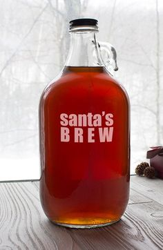 Free shipping and returns on CATHY'S CONCEPTS 'Santa's Brew' Growler at Nordstrom.com. Keep Santa jolly with a festive handblown glass growler that's perfect for filling up with your favorite local or homebrew.