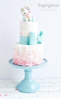 Unicorn Figure Cake