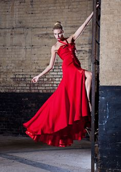 model, High Fashion, editorial, Industrail, Photo shoot, warehouse, abandon factory, gown, fashion gown